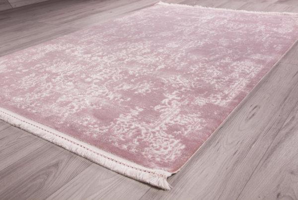 килим ерчиес 0083 лила/бял